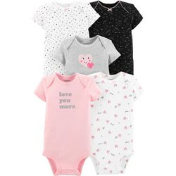 Carters Baby Girls 5-pk. Love You More Heart