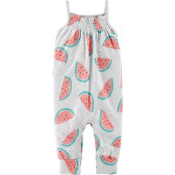 Carters Baby Girls Watermelon Jumpsuit