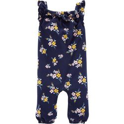 Carters Baby Girls Floral Bouquet Ruffle Romper