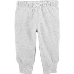 Carters Baby Girls Heathered Jogger Pants