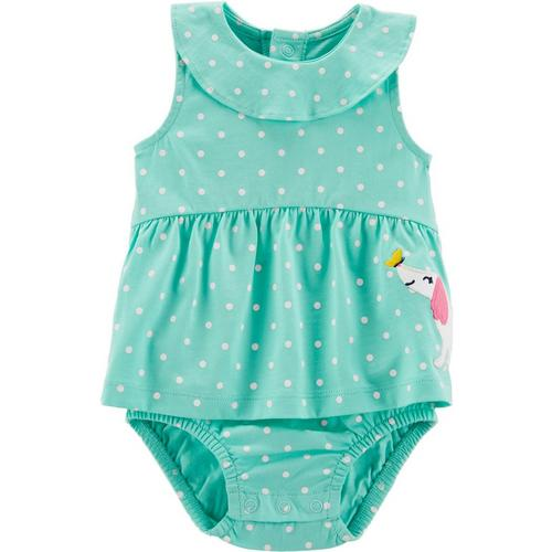 395054d9e Carters Baby Girls Polka Dot Sunsuit   Bealls Florida