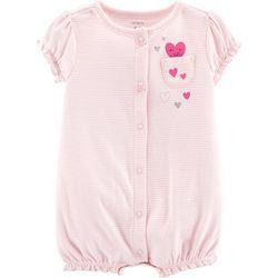 Carters Baby Girls Happy Heart Romper