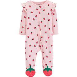 Carters Baby Girls Strawberry Sleep & Play