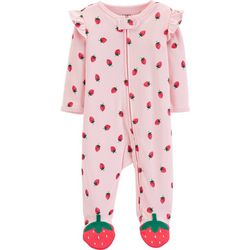 Carters Baby Girls Strawberry Sleep   Play 693e12c90