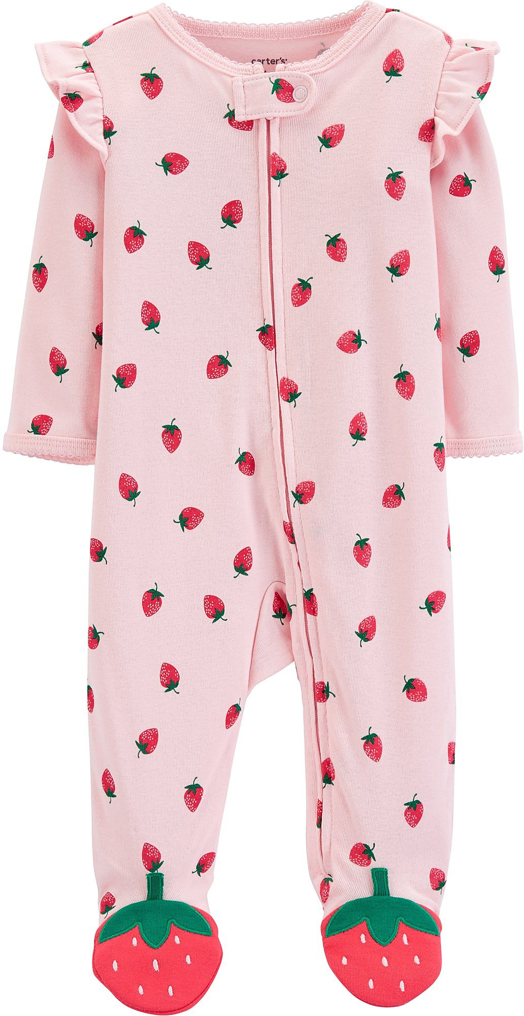 a2dcf40a95ea Carters Baby Girls Strawberry Sleep   Play