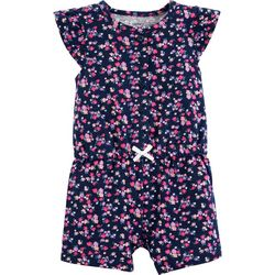 Carters Baby Girls Ditsy Floral Romper