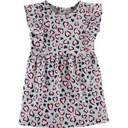 Carters Baby Girls Heart Print Dress