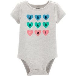 Carters Baby Girls Mom Dad + Me Bodysuit