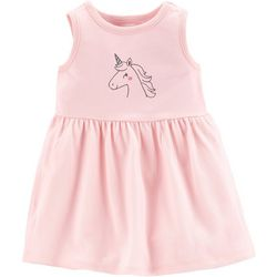 Carters Baby Girls Unicorn Dress