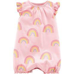 Carters Baby Girls Rainbow Romper