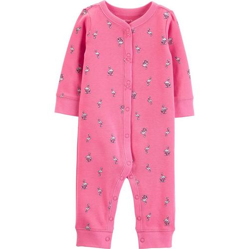94802b970ab1 Carters Baby Girls Flamingo Bow Jumpsuit