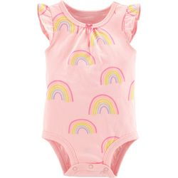 Carters Baby Girls Rainbow Bodysuit