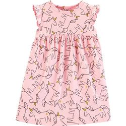 Carters Baby Girls Unicorn Flutter Dress