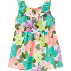 Carters Baby Girls Floral Dress