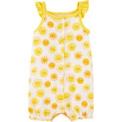 Carters Baby Girls Sunshine Romper