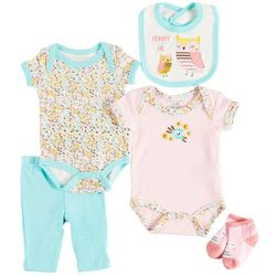 Weeplay Baby Girls 5-pc. Mommy & Me Layette Set