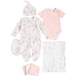 Little Beginnings Baby Girls 9-pc. Floral Layette Set