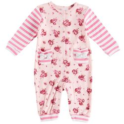 Laura Ashley Baby Girls Floral Jumpsuit