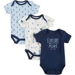 Chick Pea Baby Boys 3-pk. Explore More Bodysuits