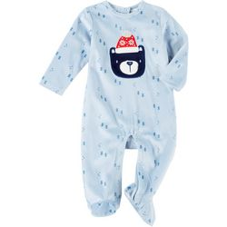 Baby Gear Baby Boys Bear Snug Fit Footie Pajamas