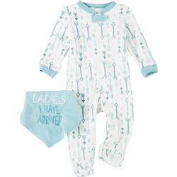 Chick Pea Baby Boys 2-pc. Arrow Print Pajama Set
