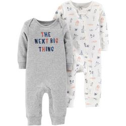Carters Baby Boys 2-pk. Next Big Thing Jumpsuits