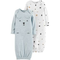 Carters Baby Boys 2-pk. Bear Sleeper Gowns