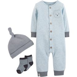 Carters Baby Boys 3-pc. Cute Take Me Home Layette Set