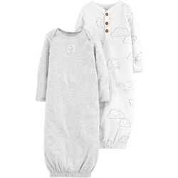 Carters Baby Boys 2-pk. Elephant Gowns