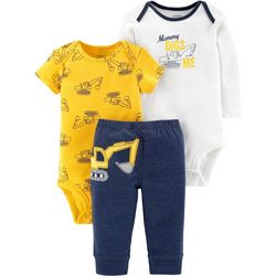 Carters Baby Boys 3-pc. Mommy Digs Me Layette Set