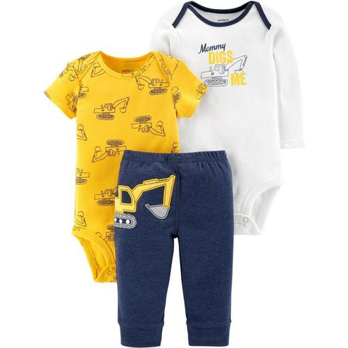 4e5d7405c Carters Baby Boys 3-pc. Mommy Digs Me Layette Set | Bealls Florida