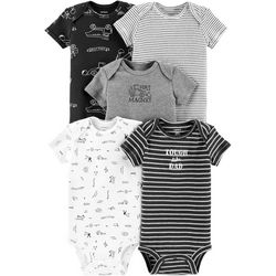 Carters Baby Boys 5-pk. Construction Bodysuits