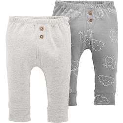 Carters Baby Boys 2-pk. Elephant Pull-On Pants