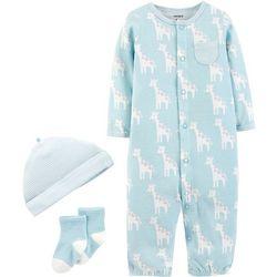 Carters Baby Boys 3-pc. Giraffe Take Me Home Layette Set