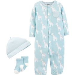 Carters Baby Boys 3-pc. Giraffe Take Me Home Layette Set