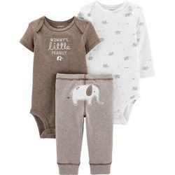 Carters Baby Boys 3-pc. Mommy's Little Peanut Layette Set