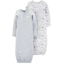 Carters Baby Boys 2-pk. Animal Sleeper Gowns