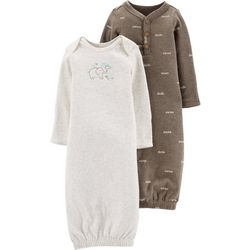 Carters Baby Boys 2-pk. Little Peanut Sleeper Gowns