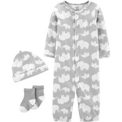 Carters Baby Boys 3-pc. Elephant Take Me Home Layette Set