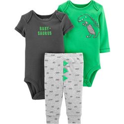 Carters Baby Boys 3-pc. Baby-Saurus Layette Set