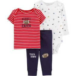 Carters Baby Boys 3-pc. Mommy's Catch Sports Layette