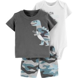 Carters Baby Boys 3-pc. I'm Working On My Roar Layette Set