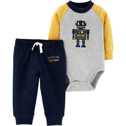 Carters Baby Boys Initiating: Cute Mode Bodysuit Set