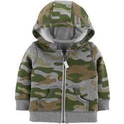 Carters Baby Boys Camouflage Hooded Jacket