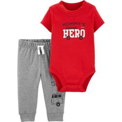 Carters Baby Boys Mommy's Hero Bodysuit Set
