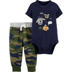 Carters Baby Boys Being Cute Is Ruff Bodysuit Set