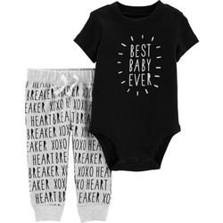Carters Baby Boys Best Baby Ever Bodysuit Set
