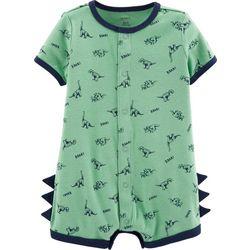 Carters Baby Boys Dinosaur Roar Romper