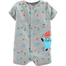 Carters Baby Boys Monster Romper