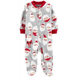 Carters Baby Boys Santa Claus Snug Fit Footie Pajamas